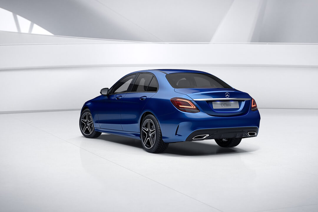 mercedes-c200-sedan-2018-rear