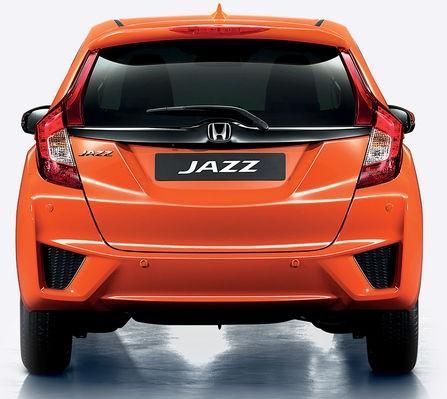 Honda JAZZ bak