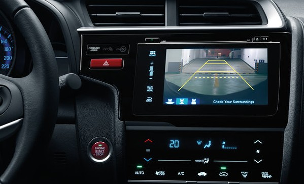 Honda JAZZ interior2