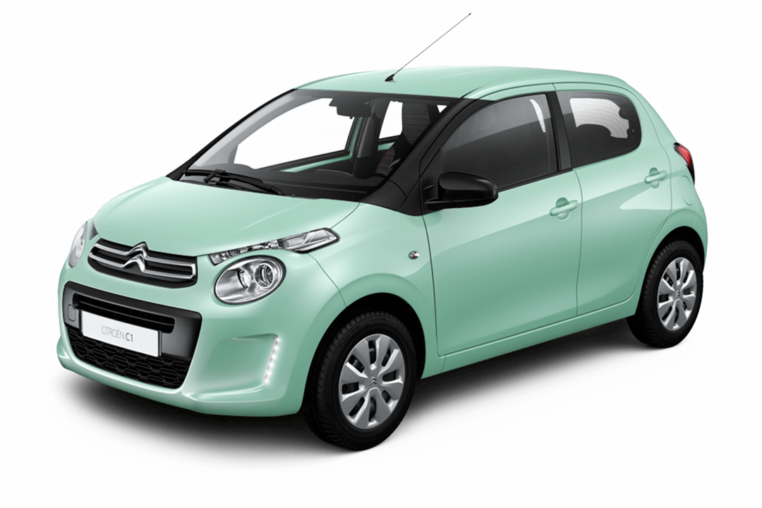 citroen-c1-feel-grön-pacific-solid