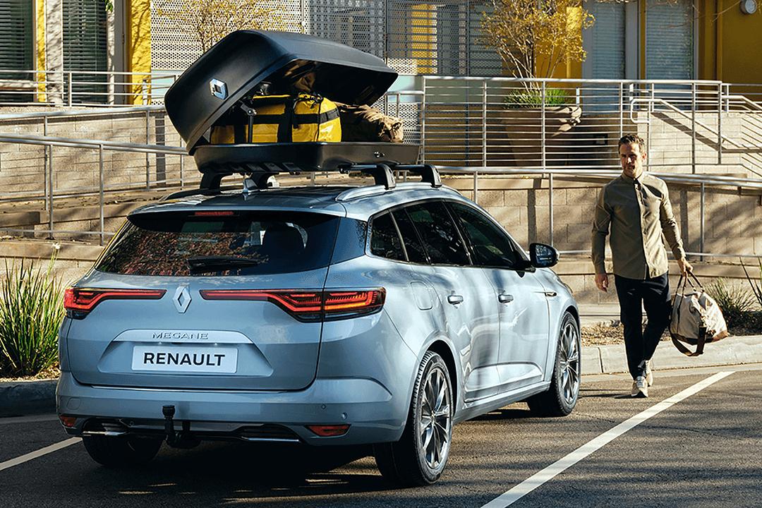 Renault-megane-zen-bakifrån-takbox