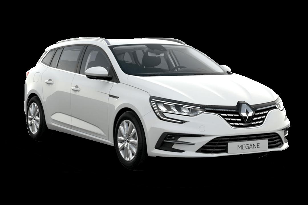 Renault-megane-zen-vit-glaciär