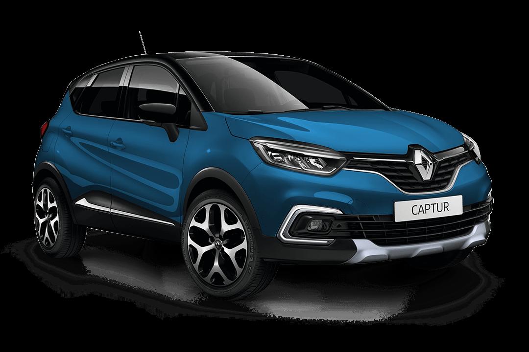 Renault-captur-blå-ocean