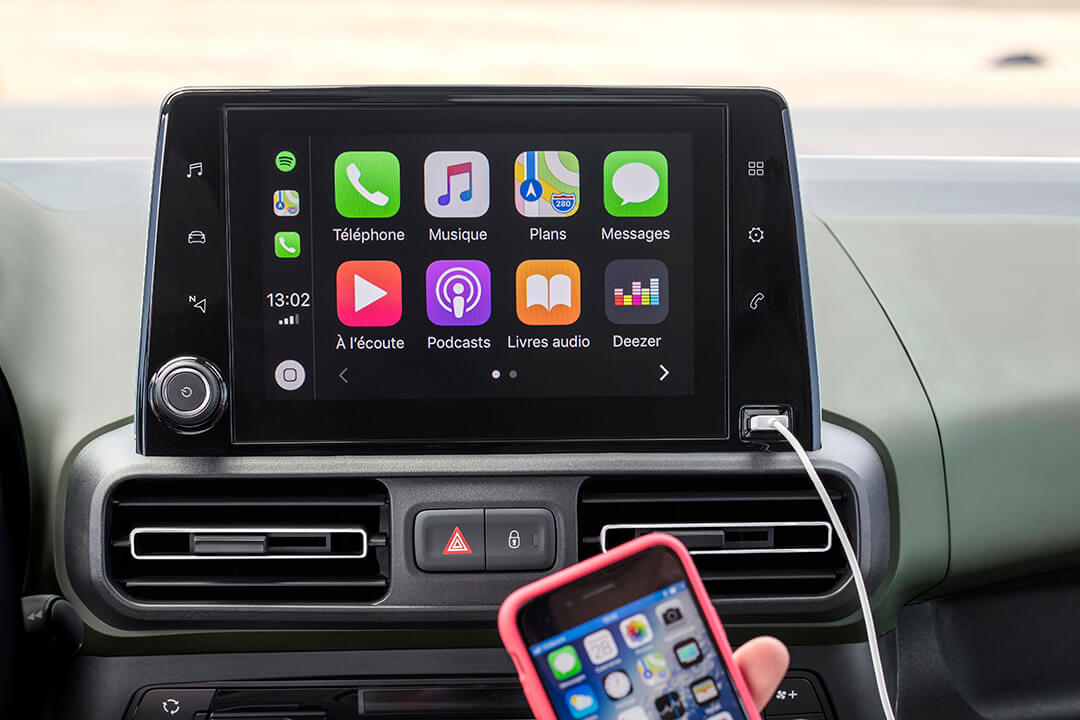 Citroen-berlingo-med-apple-carplay