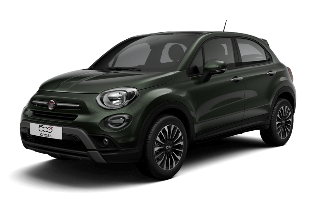 fiat-500x-cross-techno-green