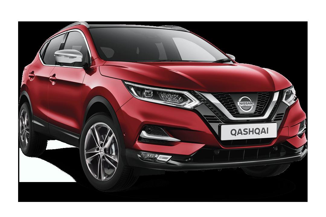 Nissan-qashqai-magnetic-red-n-motion