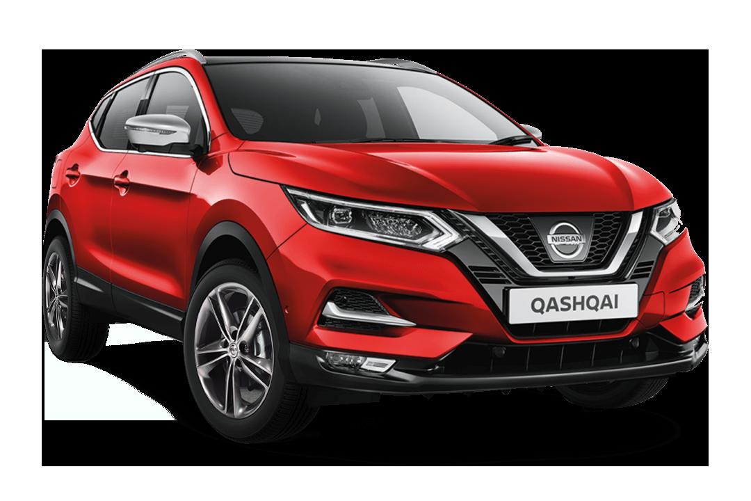 Nissan-qashqai-solid-red-n-motion