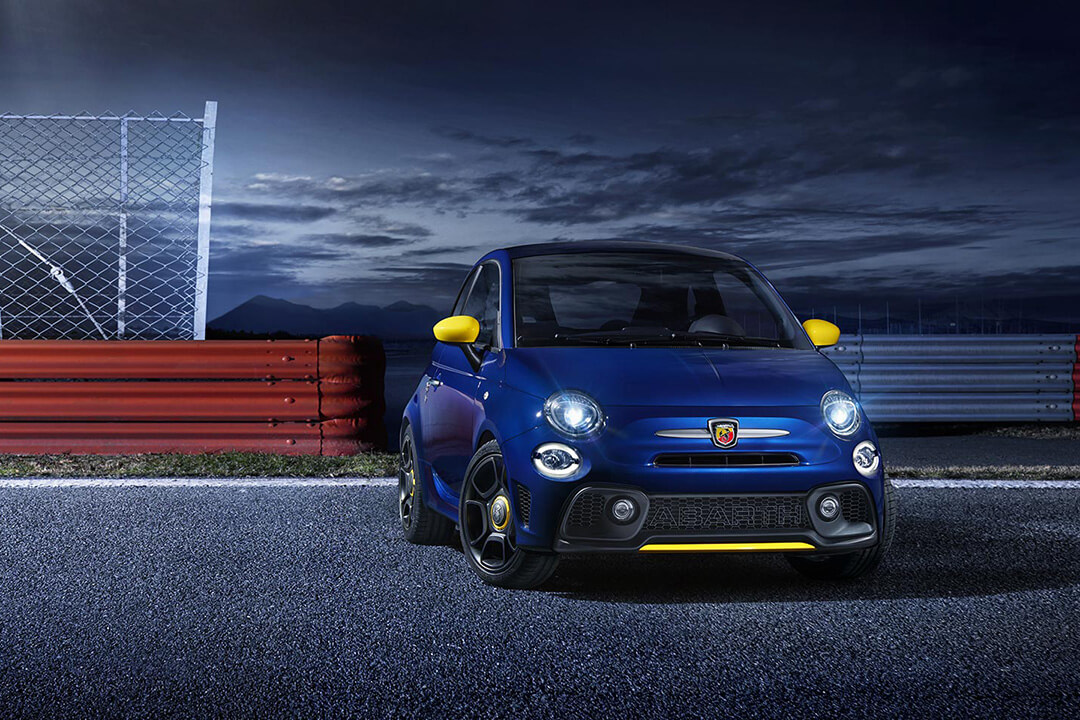 abarth-595-pista-blue-front