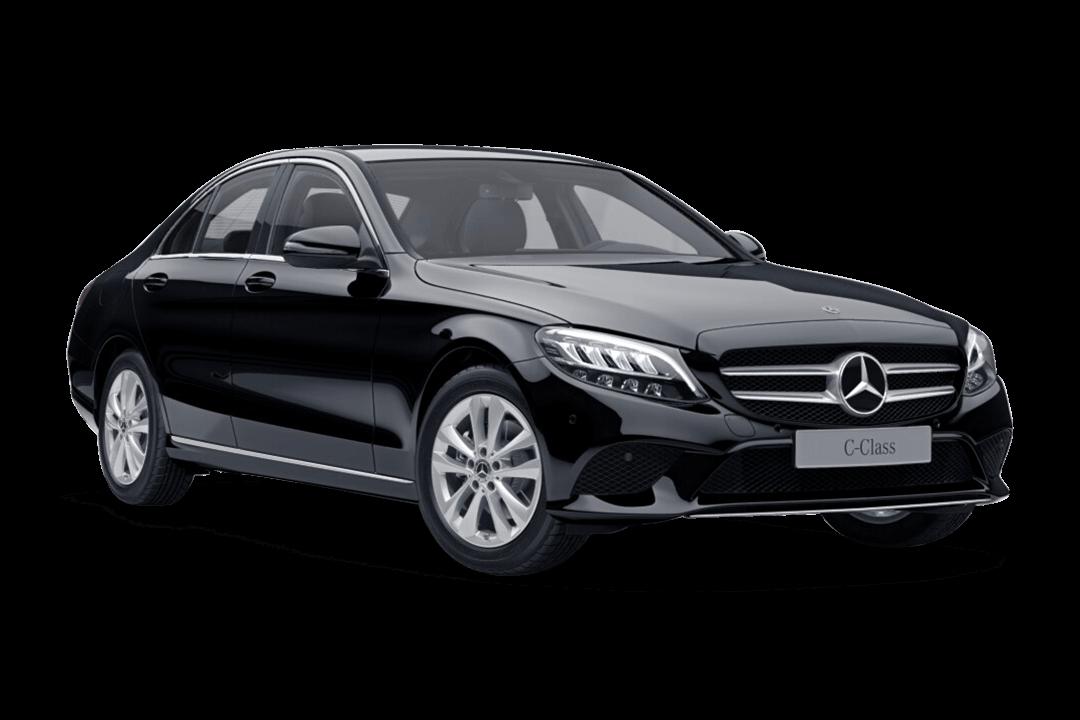 mercedes-c-klass-sedan-svart-solid