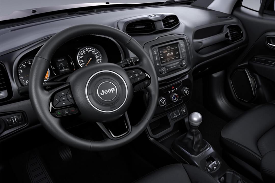 jeep renegade night eagle instrumentpanel