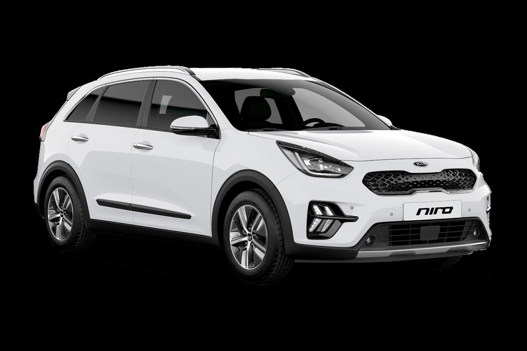 kia-niro-hybrid-clear-white-solid