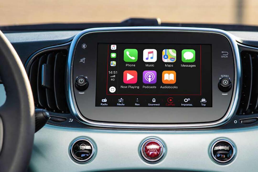 fiat-500-hybrid-fälg-apple-carplay