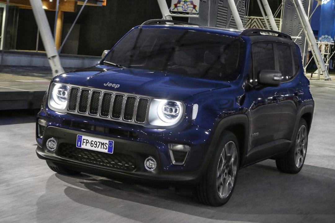 en-blå-jeep-renegade-2019