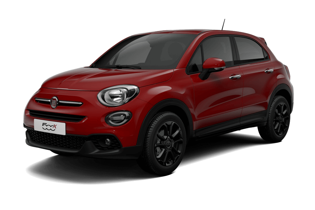 fiat-500x-connect-passione-red