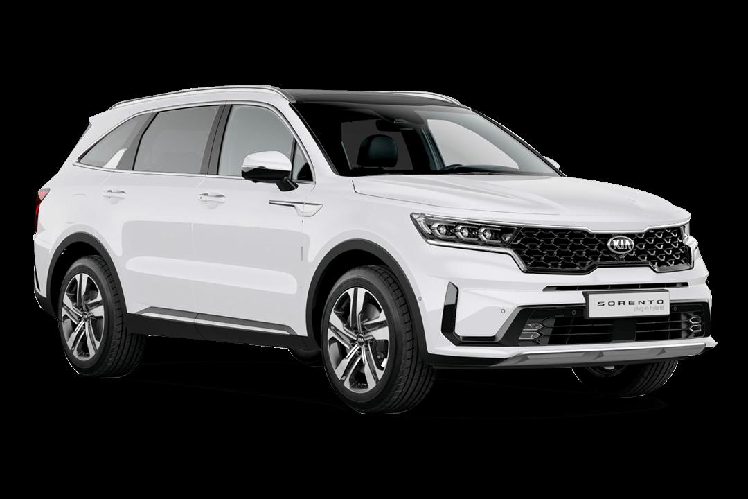 Kia-Sorento-Hybrid-clear-white