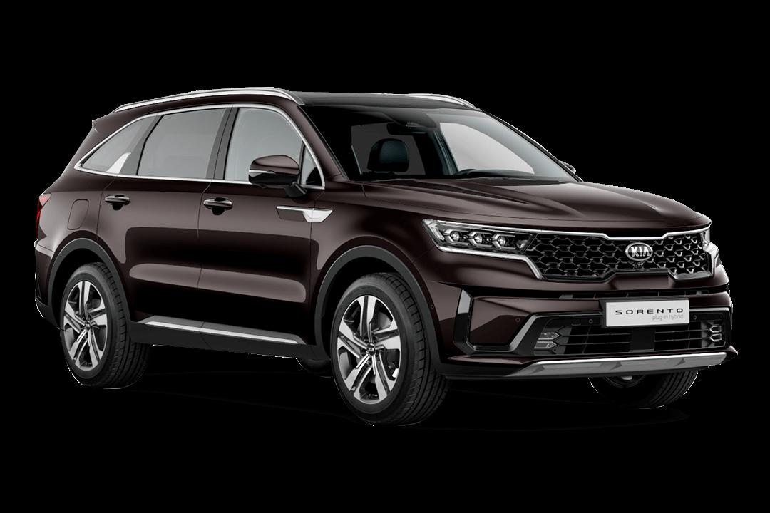 Kia-Sorento-Hybrid-essence-brown