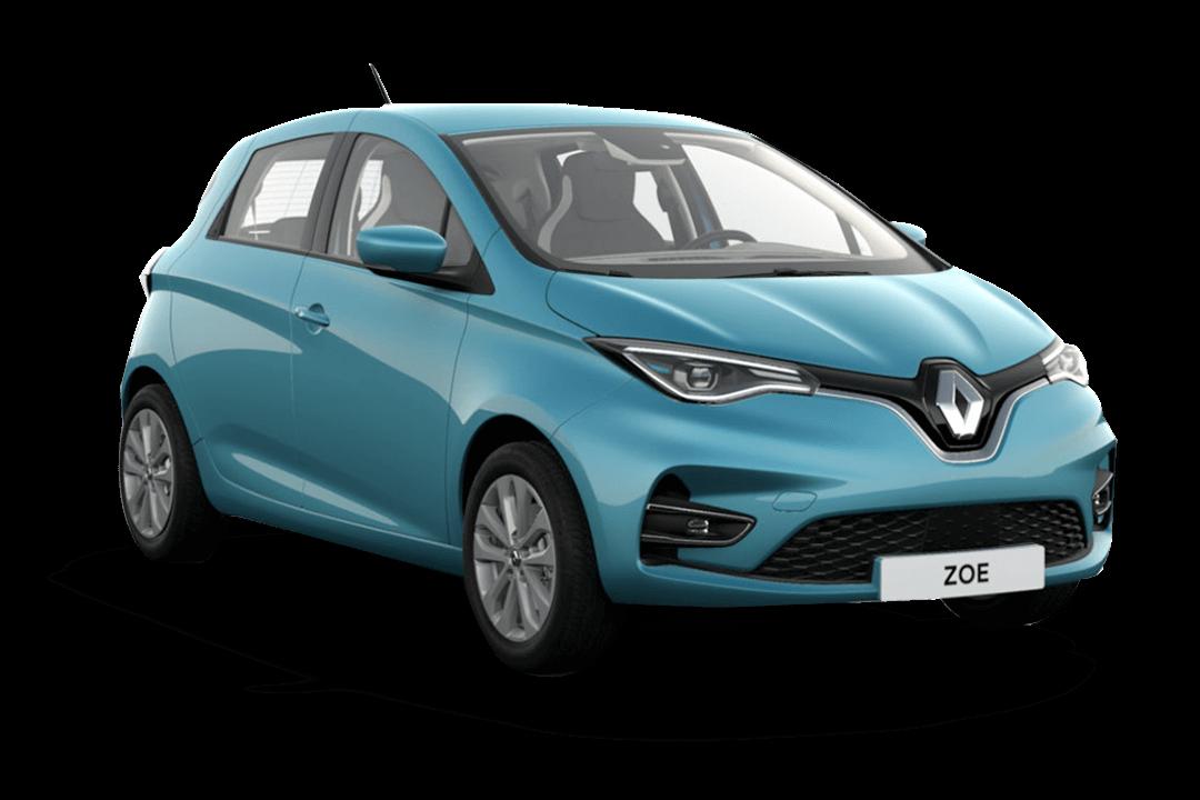 Renault-ZOE-ZEN-Blå-Celedon